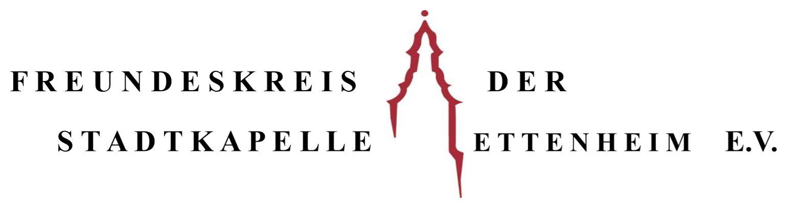 Logo Freundeskreis Stadtkapelle Ettenheim