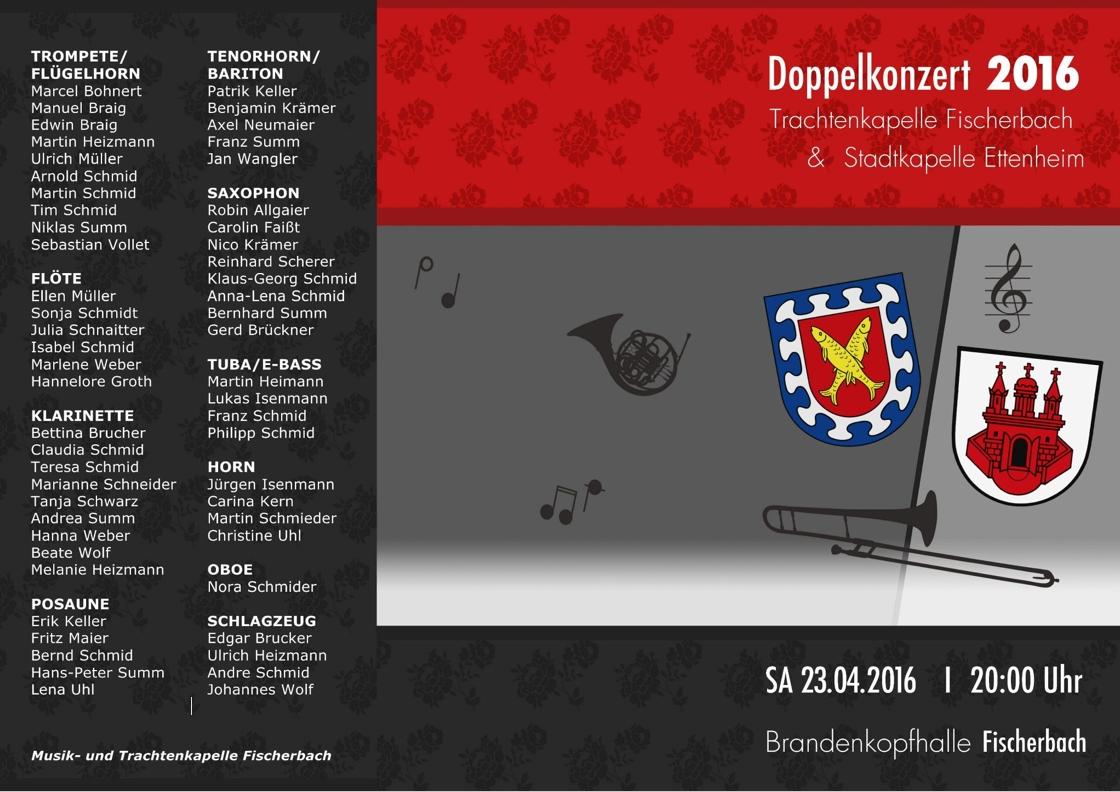 Programm Doppelkonzert Fischerbach 23.04.2016 Seite 1